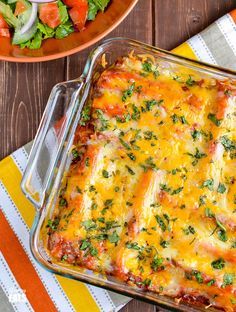 Slimming Eats Pasta Chicken Enchiladas - gluten free, Slimming World and Weight Watchers friendly Fish Recipes, Whole Food Recipes, Chicken Recipes, Cooking Recipes, Healthy Recipes, Ww Recipes, Chicken Cheese Enchiladas, Slimming Eats, Slimming Word