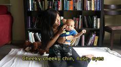 Eyes Nose Cheeky Cheeky Chin - Baby Song with Lyrics and Actions