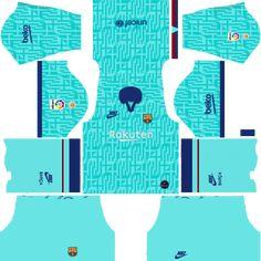 DLS New Barcelona kit + logo for Dream League Soccer Logo Barcelona, Barcelona Third Kit, Barcelona Football Kit, Barcelona Jerseys, Barcelona Soccer, Football Video Games, Soccer Games, Soccer Sports, Soccer Cleats