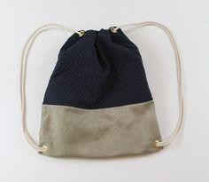 """Turnbeutel - Turnbeutel """"Blue Quilt"""" - ein Designerstück von AnnaZitat bei DaWanda"""