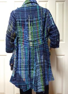 Saori jacket - looks like I'm going to be weaving some more to make some fabric to make a jacket.