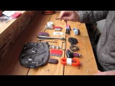 IFMGA Guide John Race described the ski repair kit that he carries when leading groups on the Haute Route Ski Tour with the Northwest Mountain School