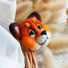 New fox brooch