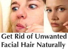 6 Natural Remedies for Getting Rid of Facial Hair | For more home remedies follow → @gwylio0148