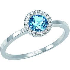 Bliss anello Ag e topazio 50€ su gioiapura.it