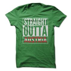 Straight Outta Austria T Shirts, Hoodie. Shopping Online Now ==► https://www.sunfrog.com/Movies/Straight-Outta-Austria.html?41382