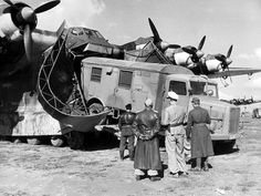 Massive German Messerschmitt Me-323 Elefant