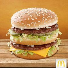Yıllar geçse de değişmeyen lezzet; Big Mac.  McDonald's, #Espark 2.katta.