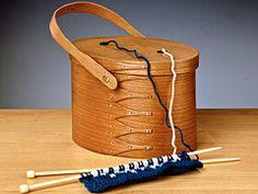 Shaker Oval Knitting Carrier- Shaker Workshops