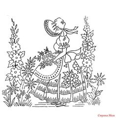 Embroidery Pattern Vintage from  gallery.ru. jwt