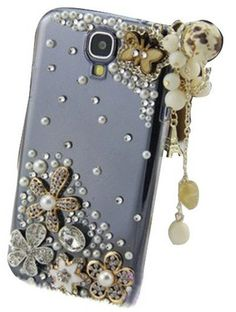 3D Bling Diamond Butterfly  Pendant Crystal Case for Samsung Galaxy S4 from Cool Mobile Accessories