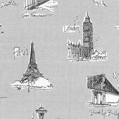 Anne Tavoletti - City Chic 2 - Cities in Grey