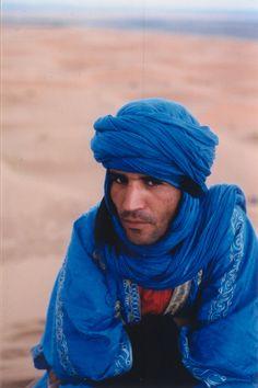 Taureg in Sahara Desert, Morocco