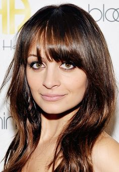 Nicole Richie looks stunning as a brunette. // #Hair