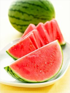 In Season Fruits: Watermelon