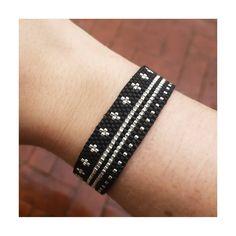 3 en 1 Beaded Jewelry, Beaded Bracelets, Imitation Jewelry, Peyote Patterns, Loom Beading, Bead Weaving, Jewels, Beads, Creative