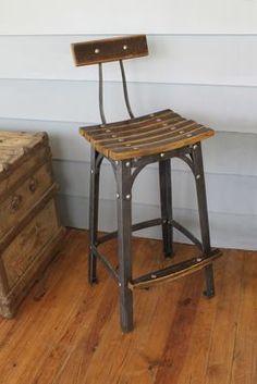 Custom Made Small Batch Furniture™ Bourbon Stool