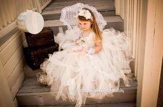 Tutu Flower Girl Dresses ? Birthday Party or Baby Shower Tutu Girl Dresses