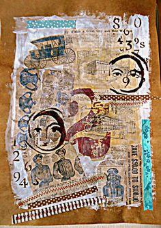 Bastelmania: Collage and birds