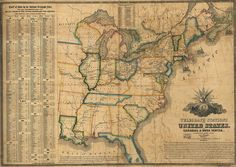 United States Telegraph Courtesy Of Us Library Of Congress Geography And Map Division