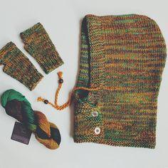 hood / scarf / scarf-hood / knit / knitting / knitted //// sequoyah.ru instagram - sequoyah22