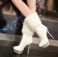 Beautiful Feel so spirit-High Heels Boots High Heel High Heels Boots