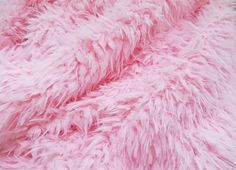 Pink Minkyak Faux Fur Photography Prop Rug | Beautiful Photo Props