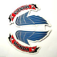 Honda Wing Logo Vintage New Wings Style