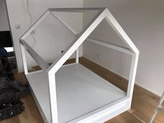 Housebed designed for a child's room Bespoke Furniture, Child's Room, Toddler Bed, Kids Room, Canning, Children, Design, Home Decor, Child Bed