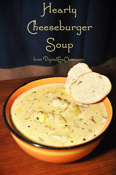 This hearty cheeseburger soup is the most filling soup recipe I've ever had. Potatoes, cheese, meat, and a really rich, creamy broth make for the perfect wintertime soup. You'll make this one again and again!