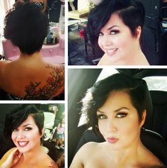 long vintage pixie hairstyle