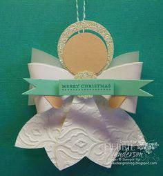 Debbie's Designs: Angel Ornament Kits!