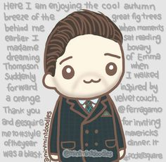 So, I have two versions of Seb in the Suit of Sin™ photo: stubble and no stubble. Kittyseb on Tumblr​ made some suggestions about how I can incorporate his really long caption into the doodle (Thanks, Kitty!) and also post my stubble version for the world to see. So here it goes and oh ok now I'm the one with a really long caption :P  #sebastianstan #mintmintdoodles