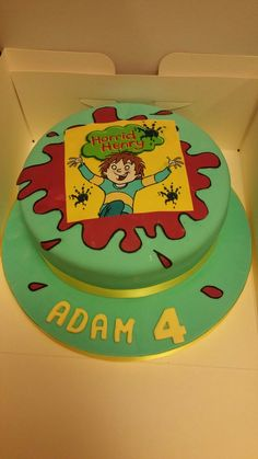 horrid henry cake - & on and 6th Birthday Cakes, Birthday Ideas, Cook N, Cake Decorations, Cake Ideas, Birthdays, Party Ideas, Activities, Saints