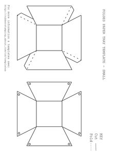 paper tray template