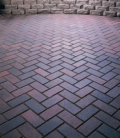 Nice patio paver pattern