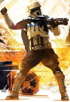 Star Wars Rogue One artwork shoretrooper