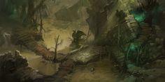 Diablo 3 Reaper Of Souls Blood Marsh Profiled By Blizzard