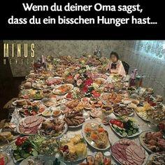 Oma, ich hab Hunger