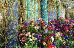 'A French Impression': Spring Bulb Show Evokes Monet's Garden