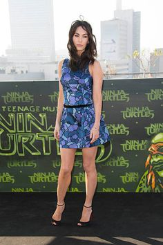 Megan Fox attends the Berlin photocall for the film 'Teenage Mutant Ninja Turtles' on October 5 2014 in Berlin Germany