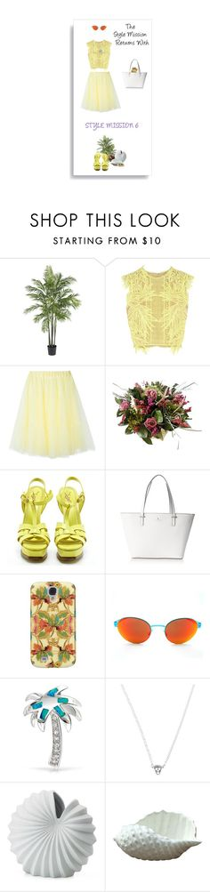 """""""Return of the Style Mission!(Please Read)"""" by belldraw ❤ liked on Polyvore featuring Nearly Natural, Erdem, P.A.R.O.S.H., Yves Saint Laurent, Kate Spade, Bling Jewelry, Karen Walker, Lenox, Isabel Marant and TheStyleMission"""