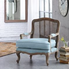 love this cane chair.