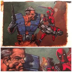 """""""One of my favorite paintings that I own from the brilliant Glenn Fabry. Bought…"""