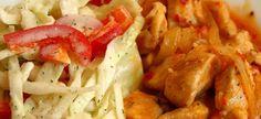 Gateste greceste: Gyros de pui cu tzatziki de ardei Tzatziki, Shrimp, Meat, Chicken, Dinner, Recipes, Food, Dining, Food Dinners