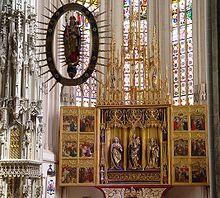 Retablo mayor de la Catedral de Košice, del llamado Maestro de la Leyenda de Santa Isabel (1474-1477).1