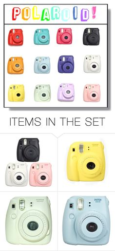 """""""Polaroid"""" by luna-fim ❤ liked on Polyvore featuring art"""
