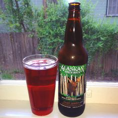 Alaskan birch bock beer - Brewed with Alaska Birch syrup....and angel kisses. Heaven in a bottle.