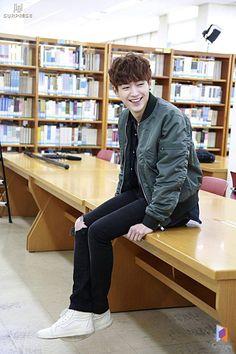 Seo Kang Joon - Cheese in the Trap  Cr.Logo