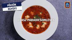 Igazi mediterrán ízek egy könnyű előételbe foglalva. Cheeseburger Chowder, Soup, Ethnic Recipes, Youtube, Soups, Youtubers, Youtube Movies